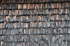 Bauholzschindeln Stockbild