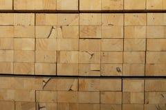 Bauholzstapel für die Herstellung von Möbeln Lizenzfreies Stockfoto