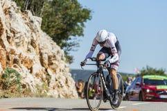 Bauke Mollema, ensayo individual del tiempo - Tour de France 2016 Fotografía de archivo