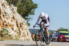 Bauke Mollema, Individual Time Trial - Tour de France 2016 Stock Photography