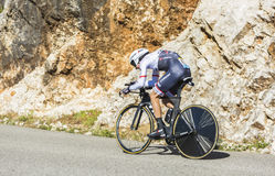 Bauke Mollema, Individual Time Trial - Tour de France 2016 Royalty Free Stock Photos