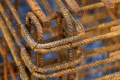 Baulicher Stahl Stockfotografie