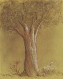 Baum lizenzfreie abbildung