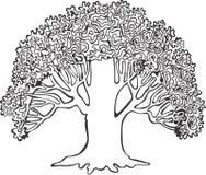 Baum 1 Lizenzfreie Abbildung