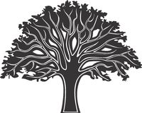 Baum 3 Stock Abbildung