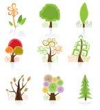 Baum-Ansammlung Lizenzfreies Stockbild