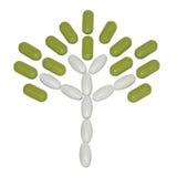 Baum aufgebaut von den Tabletten Stockbilder