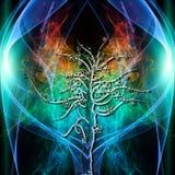 Baum-Aura stock abbildung