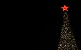 Baum-Beleuchtung Stockfoto