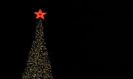 Baum-Beleuchtung Lizenzfreies Stockbild