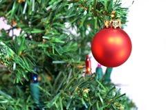 Baum-Dekorationen Stockfoto