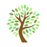 Baum in der flachen Art Lizenzfreie Stockbilder