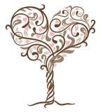 Baum der Liebe vektor abbildung