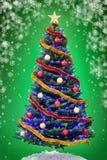 Baum des neuen Jahres Stockbilder