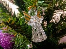 Baum des Weihnachtsneuen Jahres Lizenzfreies Stockbild
