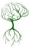 Baum-Gehirn Lizenzfreie Stockfotos