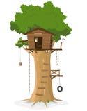 Baum-Haus Stockbilder