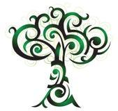 Baum illusstration Lizenzfreies Stockbild
