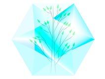 Baum im Diamanten Stockfoto