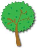 Baum-Karikatur stock abbildung