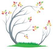 Baum-Logo lizenzfreie abbildung
