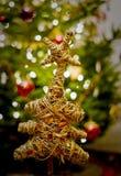 Baum mit Stern Stockfoto