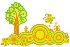 Baum und Basisrecheneinheit Stockbilder