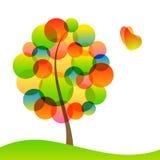 Baum und Basisrecheneinheit. Lizenzfreies Stockbild