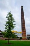 Baum- und Kaminstapel lizenzfreies stockbild