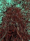 Baum und Zweige lizenzfreies stockfoto
