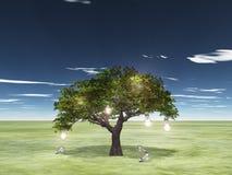 Baum von Ideen Stockbild