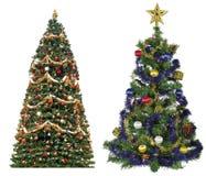 Baum-Weihnachten 2 Lizenzfreie Stockbilder