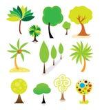 Baumansammlung Stockbilder