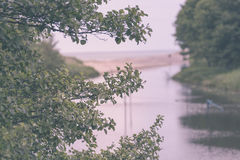 Baumast auf einem sandigen Strand stockbilder