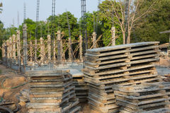 Baumaterial-Abteilungs-Einheimisch-Bau Stockfoto