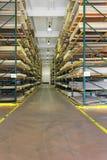Baumateriallager Stockbild