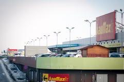 Baumax商店 免版税图库摄影