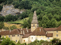 Baume les messieurs village Royalty Free Stock Photos