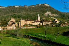 Baume-les-Messieurs village. France Stock Photography