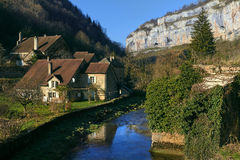 Baume-les-Messieursdorf frankreich Lizenzfreie Stockfotos
