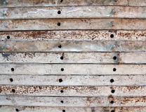 Baumetallschablonen stockfoto