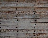 Baumetallschablonen stockfotos