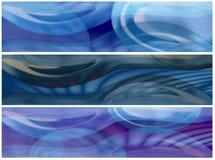 Baumglas- und -wasserfahnen Stockfotos