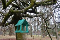 Baumhaus für die Vögel, nette apartmen lizenzfreie stockbilder