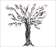 Baumillustration Stockbild