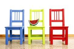Baumschulen-Stühle Stockbilder