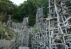Baumskulptur Stockfotografie