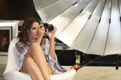 Baumuster auf Ausstellung Photoforum-Ausstellung 2010 in Moskau Stockfoto