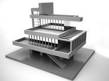 Baumuster des Hauses Lizenzfreie Stockbilder