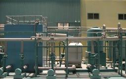 Baumuster einer Fabrik Lizenzfreie Stockfotos